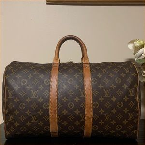 Authentic Louis Vuitton Keepall 45 (with lock/key)